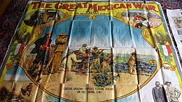 History Detectives-Great Mexican War Posters/Nora Holt Autograph Book/Muhlenberg Robe