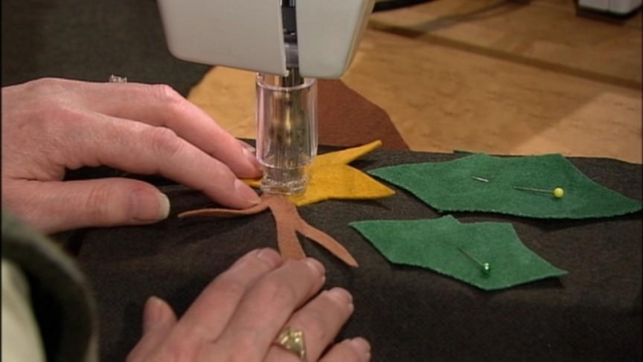 Machine Needle Felting Part 40 Sewing With Nancy Wisconsin Enchanting Needle Felting Sewing Machine