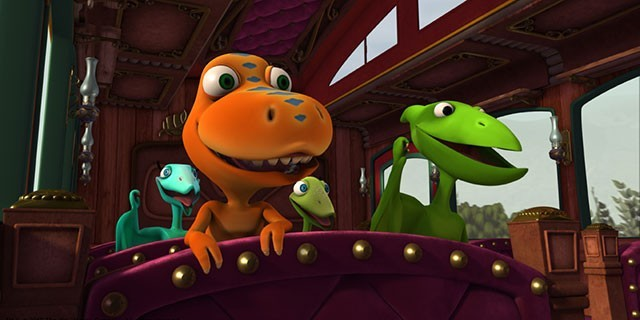 Dinosaur Train Submarine: Shoshana Shonosaurus/All Kinds of Families