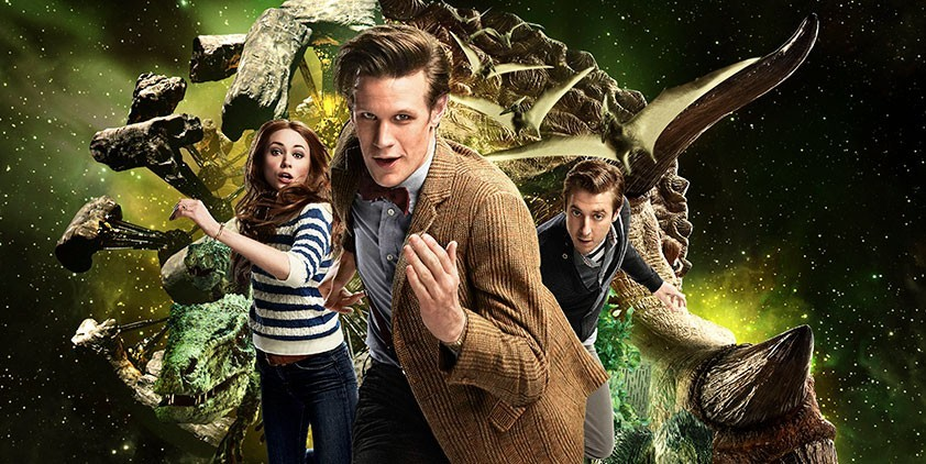 Doctor Who-Dinosaurs on a Spaceship